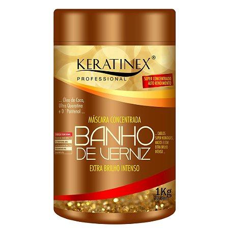 Banho de Verniz Hidratação e Extra Brilho Keratinex 1Kg