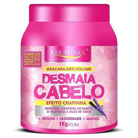 Desmaia Cabelo Efeito Chapinha Keratinex 1kg