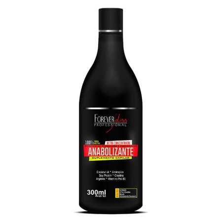 Shampoo Fortificante Anabolizante 300ml Forever Liss