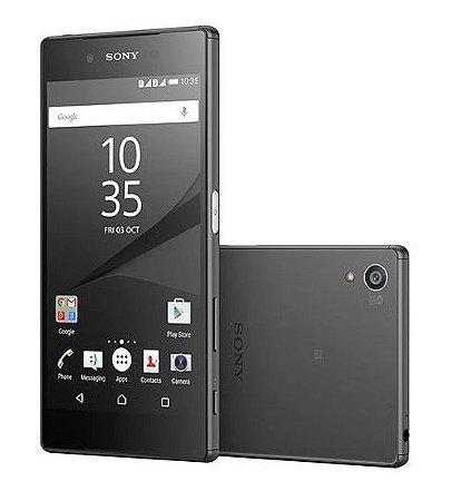 Smartphone Sony Xperia Z5 32Gb Dual E6633 Tela 5.2 - Preto