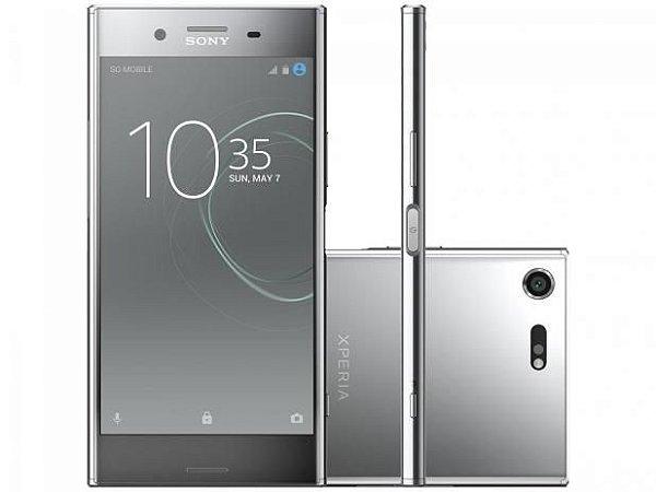 Smartphone Sony Xperia Xz Premium 64gb G8142 Dual- Cromado