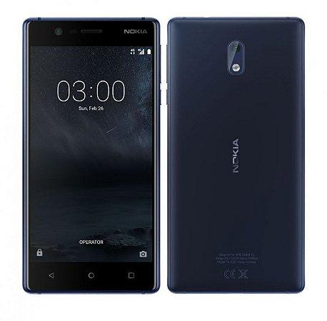 Smartphone Nokia 3 16gb 4g Dual Tela 5.0 - Azul