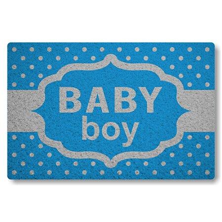 Tapete Capacho Baby Boy - Azul Maritimo