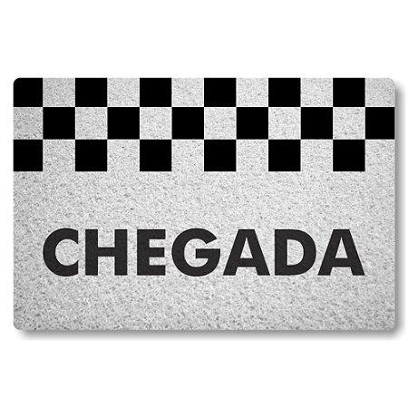 Tapete Capacho Chegada - Branco