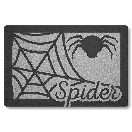 Tapete Capacho Spider - Prata