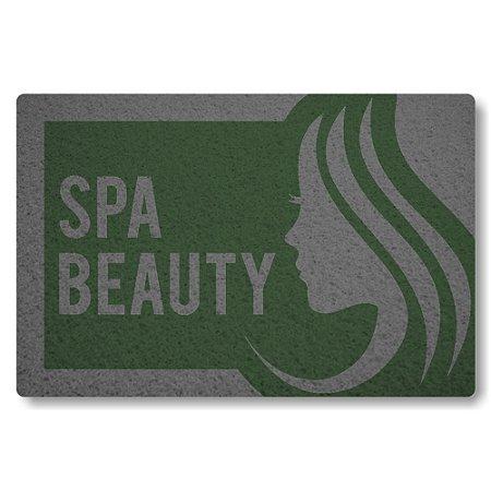 Tapete Capacho Spa Beauty - Verde Musgo