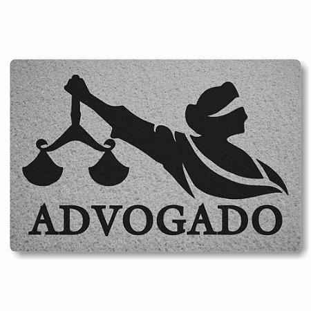 Tapete Capacho Advogado 2 - Prata