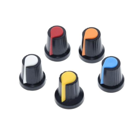 Knob Estriado para Potenciômetros e Encoders 6mm