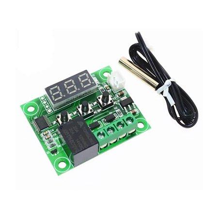 Termostato Digital W1209 Controlador de Temperatura