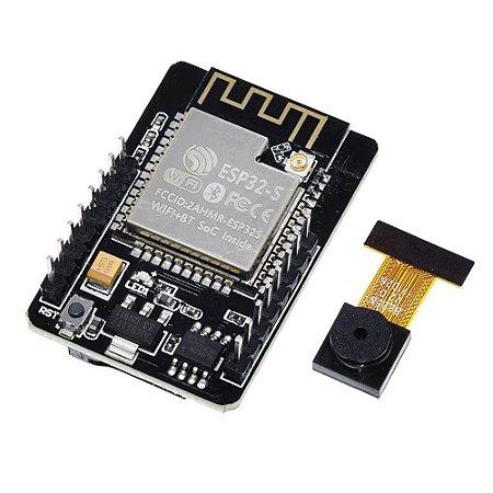 Módulo ESP32 CAM com Câmera OV2640 2MP
