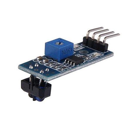 Módulo Sensor Infravermelho Seguidor de Linhas TCRT5000