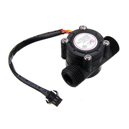 Sensor de Fluxo de Água 1/2 YF-S201B