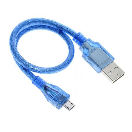 Cabo USB Micro para ESP, Arduino, Raspberry PI