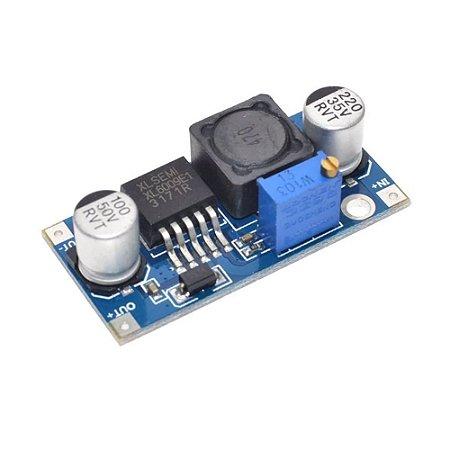 Regulador de Tensão Ajustável XL6009 Step-Up Elevador