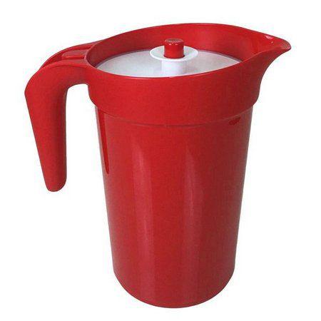 Tupperware Jarra 2 Litros Vermelha