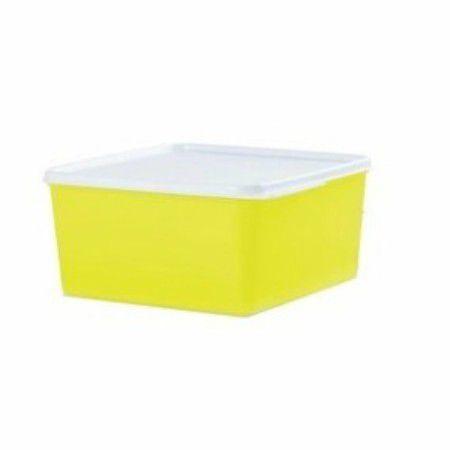 Tupperware Basic Line 2,5 Litros Amarelo Neon