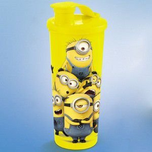 Tupperware Copo 470ml Com Bico Minions