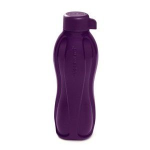 Tupperware Eco Tupper Garrafa Plus Roxa Glitter 500 ml