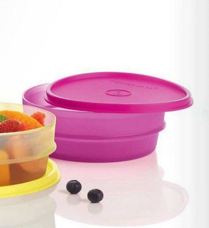 Tupperware Pote Dinâmico Rosa 400ml