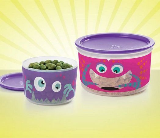 Tupperware Mini Istantanea Slim Monstrinhos + Pote Master Monstrinho