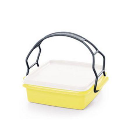 Tupperware Pote Com Alça Amarelo 780 ml
