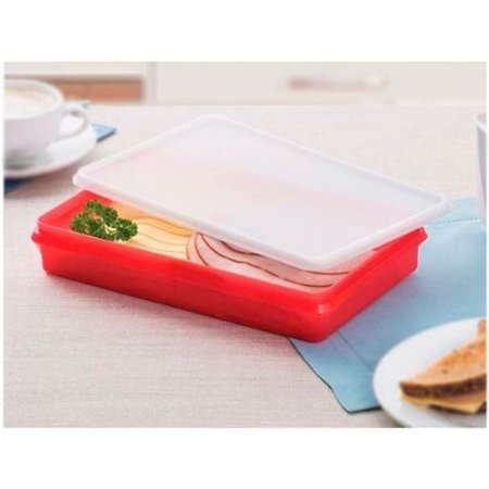 Tupperware Refri Box 750ml Vermelha