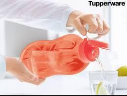 Tupperware Eco Tupper Garrafa Plus Laranja Neon 2 Litros