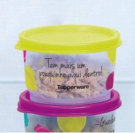 Tupperware Potinho de Sobra - Margarida 140ml