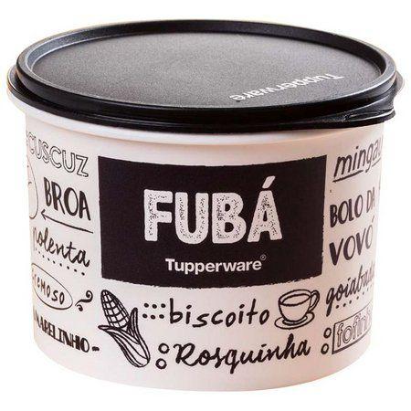 Tupperware  Tupper  Caixa Fubá PB 1,2kg