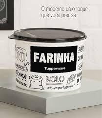 Tupperware Conjunto PB FUN Feijão, Sal, Pipoca e Farinha.