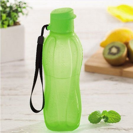 Tupperware  Eco Tupper Garrafa Plus Verde Neon 500 ml