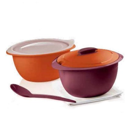 Tupperware Tigela Thermo 2,5 Litros Laranja