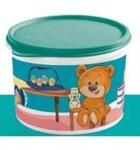 Tupperware Caixa Diversão na Cozinha Urso