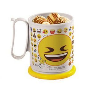 Tupperware Caneca Emoji Divertido 550 ml