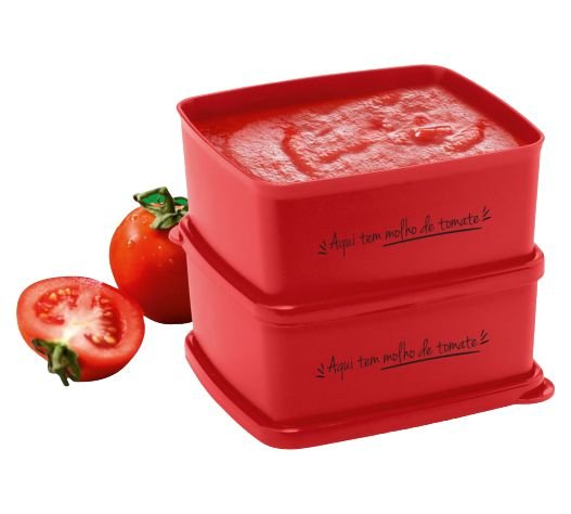 Tupperware Conjunto 2 Jeitosinho Molho de Tomate 400 ml
