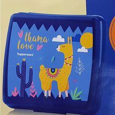 Tupperware Porta Sanduíche Love Lhama