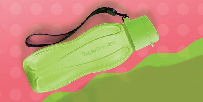Tupperware Eco Tupper Garrafa Plus Verde 310ml