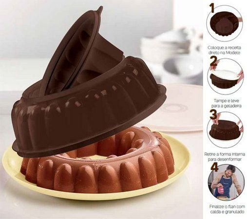 Tupperware Modele Chocolate 1,5 Litros