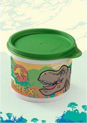 Tupperware Tupper Redondinha Jurassic World 500 ml