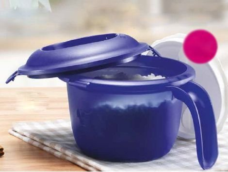 Tupperware Micro Arroz 550 ml Azul