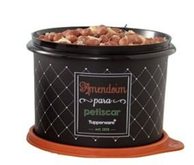 Tupperware Tupper Caixa Amendoim 1,1 Litro Bistrô