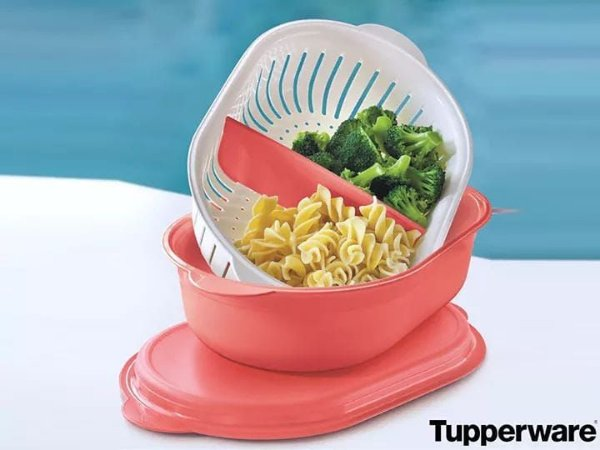 Tupperware Pote Dinâmico 400 ml + Travessa Oval Múltipla 2,5 Litros