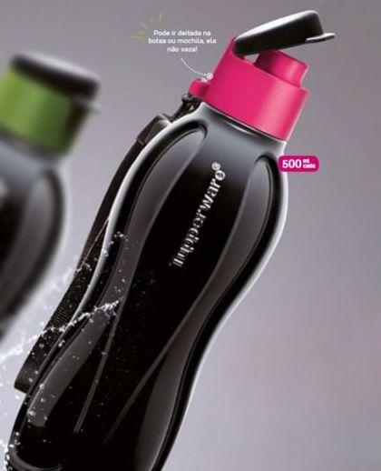 Tupperware Eco Tupper Plus 500 ml Black Pink
