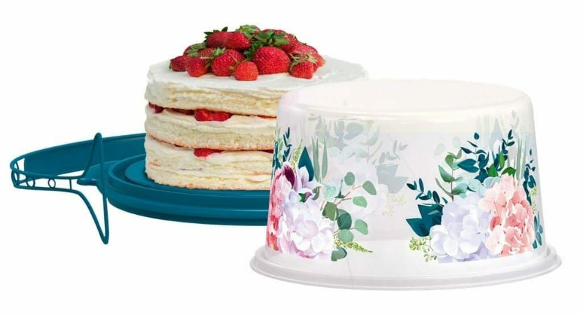 Tupperware Big Cake Redondo Hortênsia