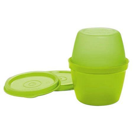 Tupperware Duo Kups 100 ml + 120 ml