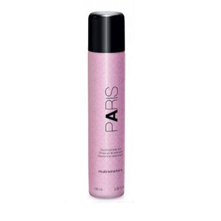 Nutrimetics Paris Desodorante Corporal Spray Feminino 100ml