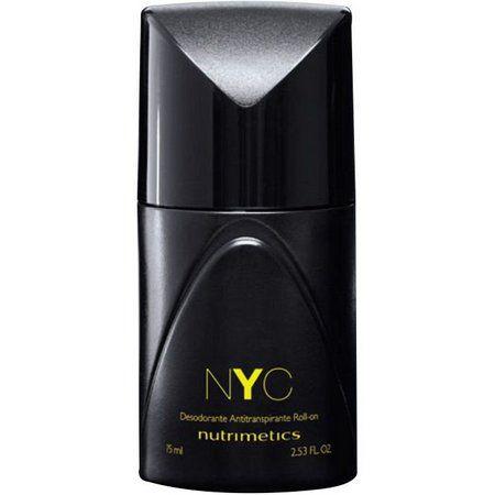 Nutrimetics NYC Desodorante Antitranspirante Roll-on Masculino 75ml