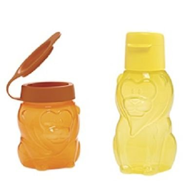 Tupperware Pack Eco Kids Leão 350ml + Eco Kids leãozinho 300 ml