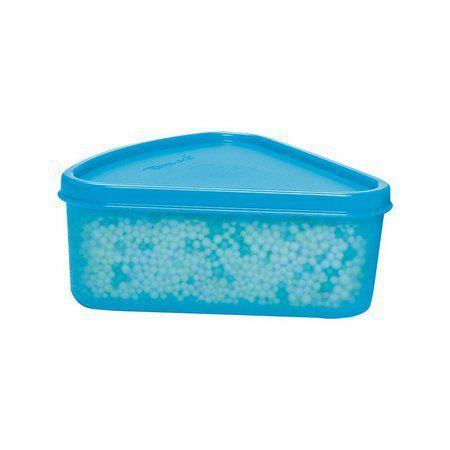 Tupperware Refri Box Triângular 250 ml Azul
