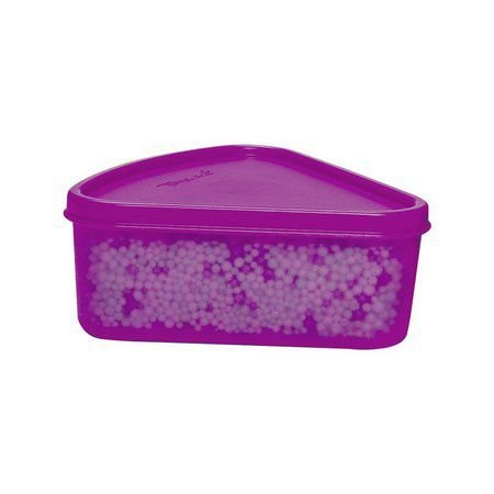 Tupperware Refri Box Triângular 250 ml Roxo
